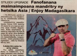 """""""Stileex Upgrade"""" : fampiofanana maimaimpoana mandritry ny hetsika Asia/Enjoy Madagascar - Titre du 17 mars 2018 dans Taratra"""