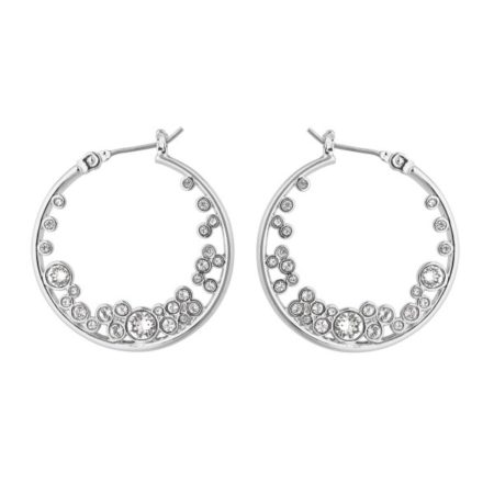 Boucles d'oreilles Adore en Métal et Cristal