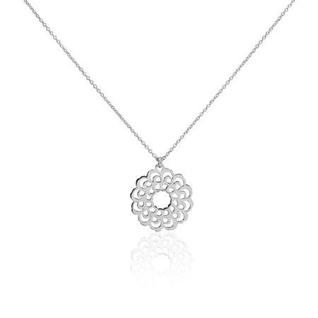 Le collier Marva, un bijou argent pas cher et original