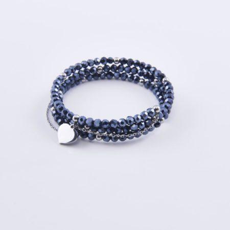 Le catalogue 2019 est déjà en ligne: vous y trouverez ce bracelet acier cristal de couleurs, à 39 €