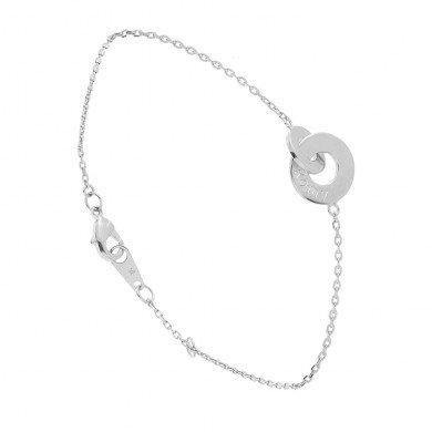 Prix spécial de ce bracelet menotte à graver en argent: 30 €