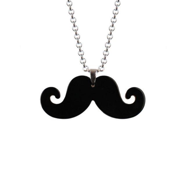 Collier moustache color à 1,50 € au lieu de 4,99 €