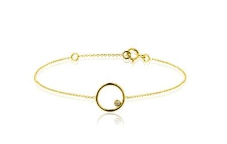 bracelet femme tendance or
