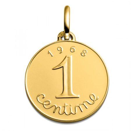 Le pendentif 1 centime de franc à 395 €:)