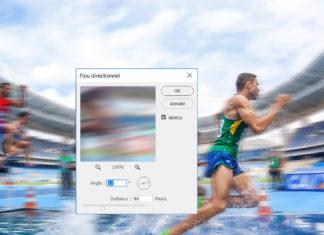 Créer un effet de vitesse sur Photoshop, la méthode facile !