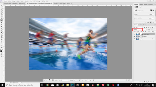 L'utilisateur doit savoir évaluer la qualité de l'image et y appliquer les effets adéquats