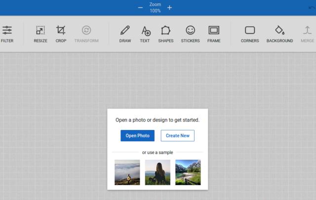 Modifiez ou créez un dessin sur l'éditeur de photos de FreePhoto.cc