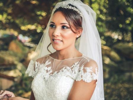 Que serait une mariée sans diadème?