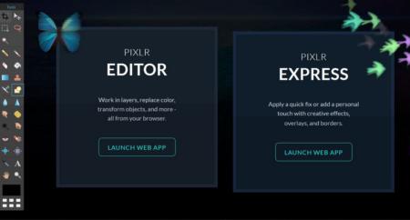 Les fonctionnalités de Pixlr Editor et de Pixlr Express sont complètes et en font un logiciel de montage photo performant