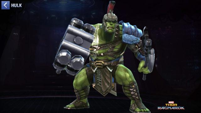 Et Hulk, dans Thor Ragnarok toujours