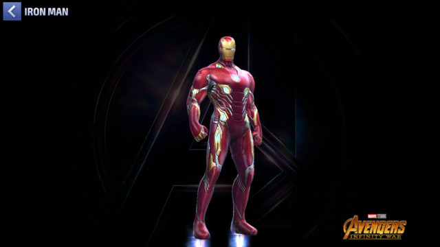 L'armure Mark 50 d'Iron Man