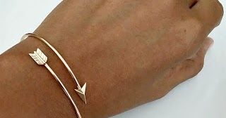 Parmi les noms des bijoux les plus incongru: le bracelet jonc!
