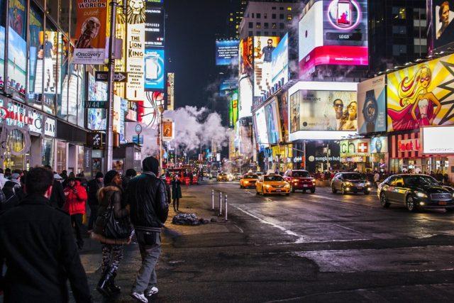 À Madagascar, on est encore loin des publicités comme dans les rues de New York!