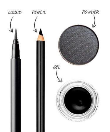 Il existe différentes sortes d'eye-liner, à vous de choisir le votre pour votre maquillage express