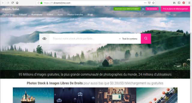 Dreamstime, fournisseur de stock photos en ligne