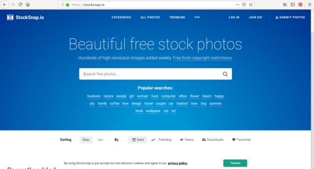 Sur Stocksnap, téléchargez des images de haute qualité (HD) gratuitement