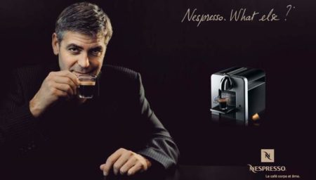 You don't have to look like George Clooney to sell Nespresso;-)