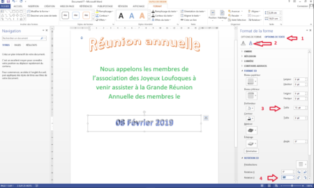 Creating a beautiful poster with Word is above all having imagination and using the right software tools