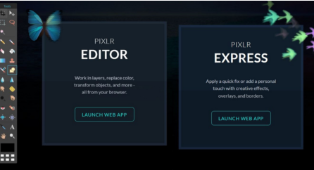 The features of Pixlr Editor and Pixlr Express are complete and make it a powerful photo editing software
