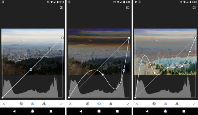Snapseed est aussi performant que n'importe quel logiciel de traitement photo