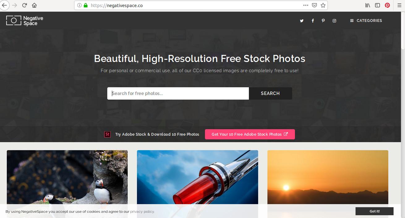 Sur Negative Space, des milliers de clichés gratuits pour usage commercial ou personnel