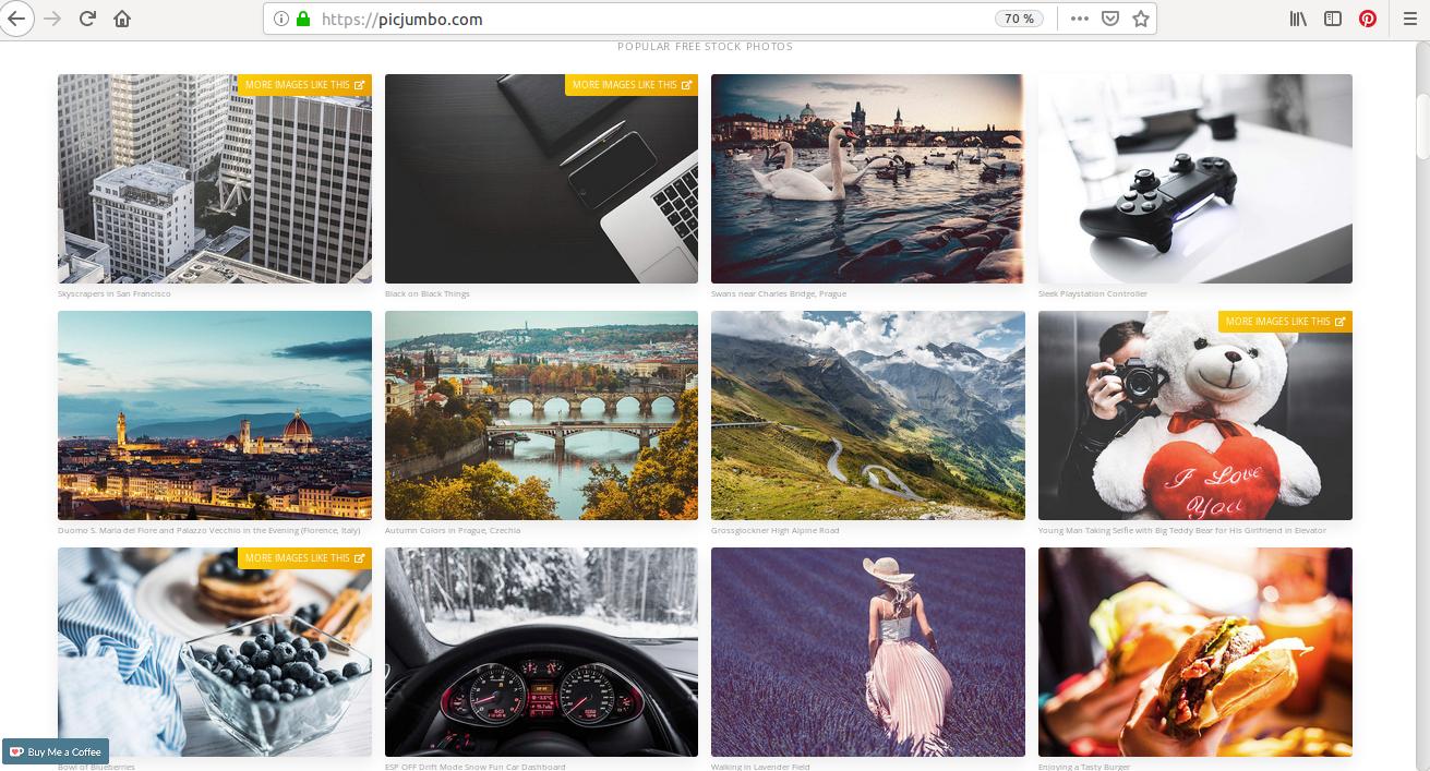 Picjumbo, une banque d'images gratuites où plus de 2 500 photos vous attendent