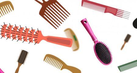 Les brosses à cheveux et les peignes à grandes dents sont l'idéal pour les cheveux bouclés