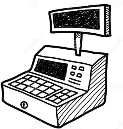 The cash register, a tool that can now be managed with software