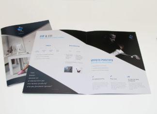 Création d'une plaquette commercialegratuite : faites-le en ligne !