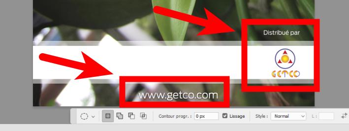 N'oubliez pas le site web, il permettra à vos cibles d'en savoir plus sur votre activité