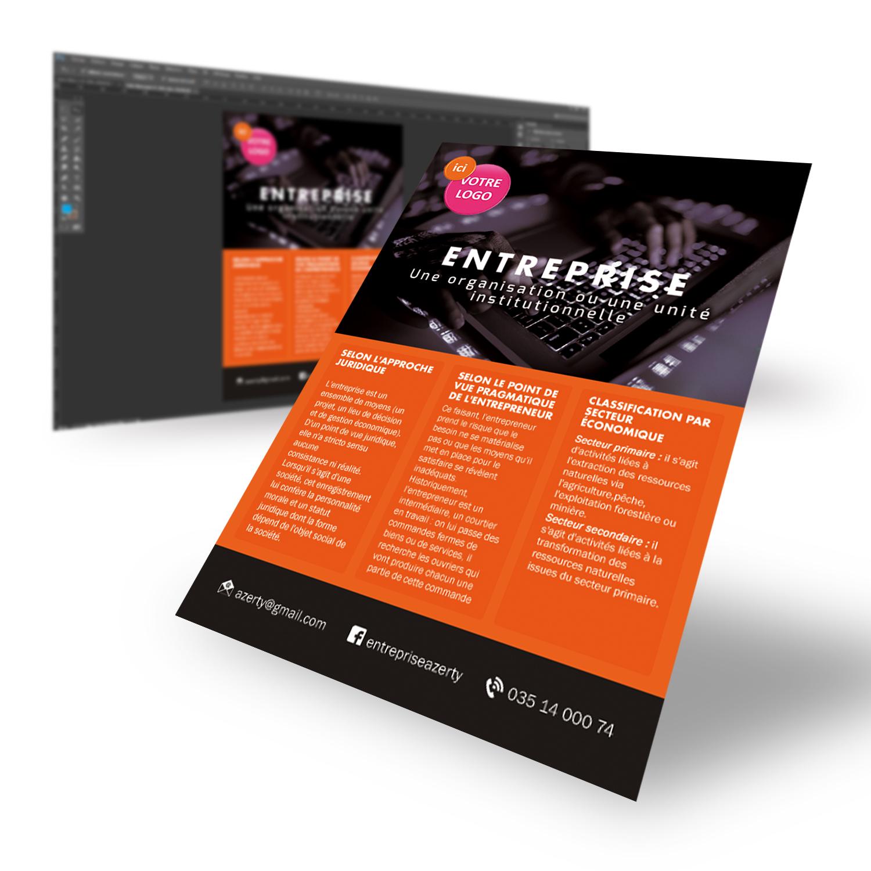 Créer un flyer : des étapes simples avec un rendu de qualité