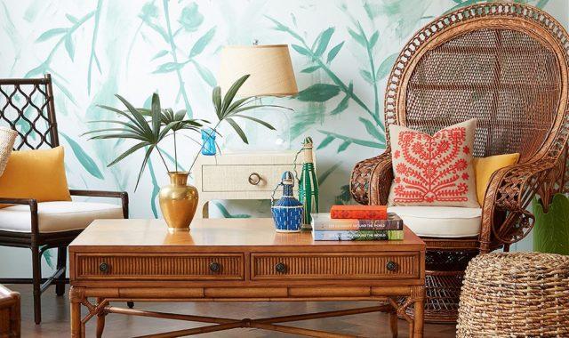 Un modèle de fauteuil vintage toujours apprécié par les amateurs de décoration
