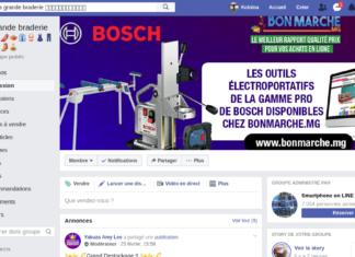 Le groupe Facebook le plus populaire à Madagascar