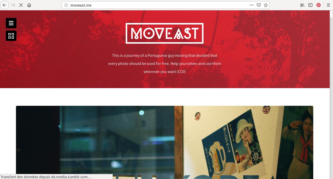 Dommage qu'il n'y ait qu'une centaine de clichés sur Moveast