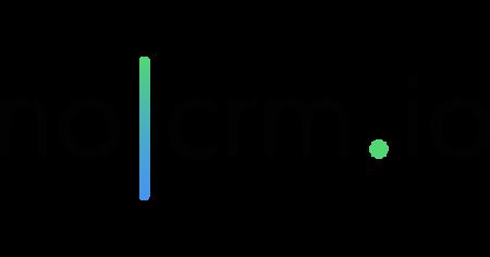 The stylish logo of noCRM.io