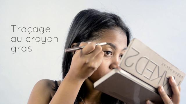 Notre makeup pour débutante n'échappera pas à la règle: les sourcils d'abord!