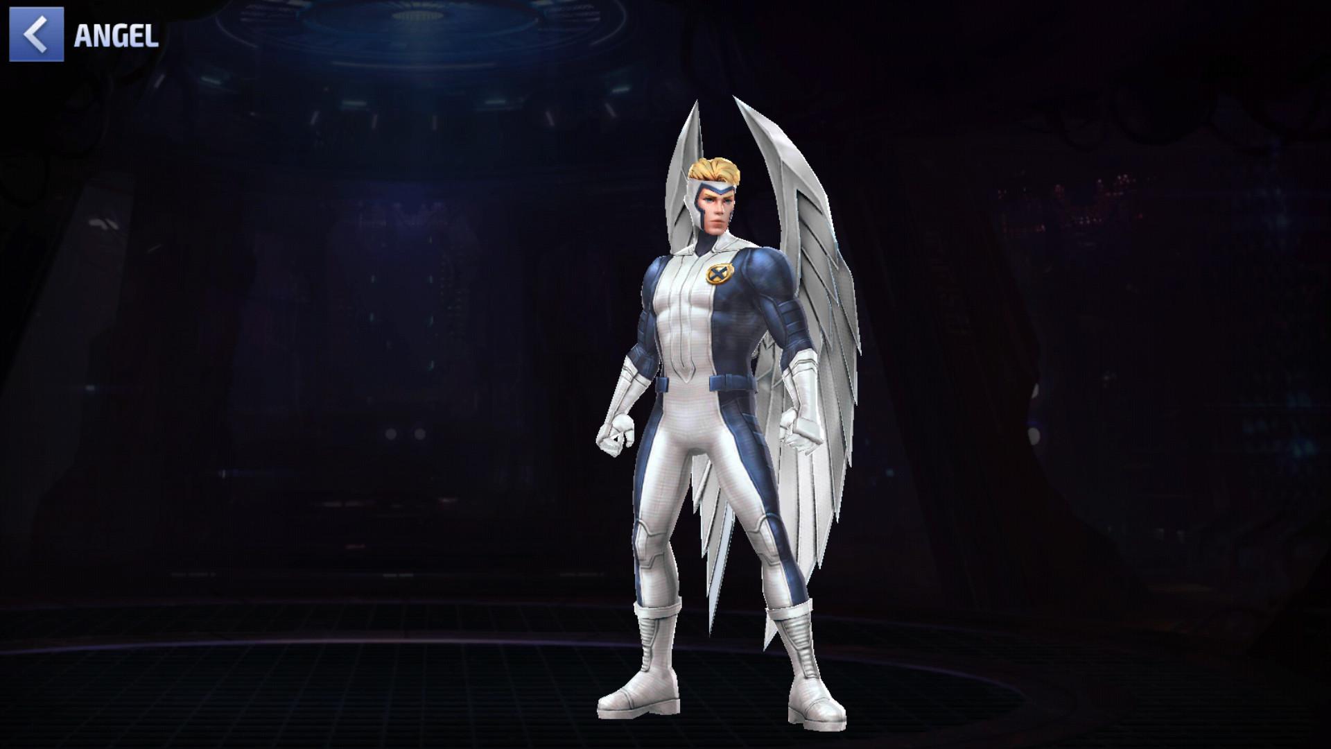 Angel est l'un des meilleurs persos gratuits dans Marvel Future Fight