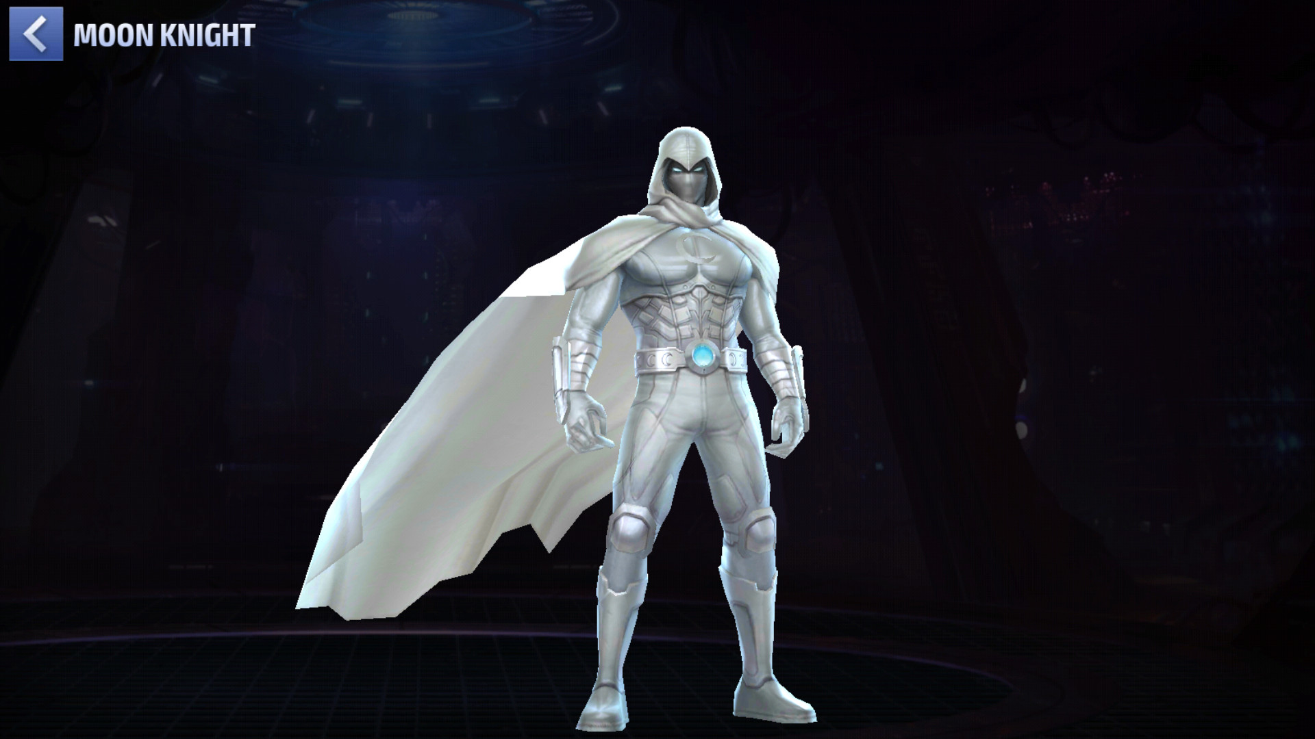 Le point fort de Batma... Moon Knight est qu'il heal quasi continuellement