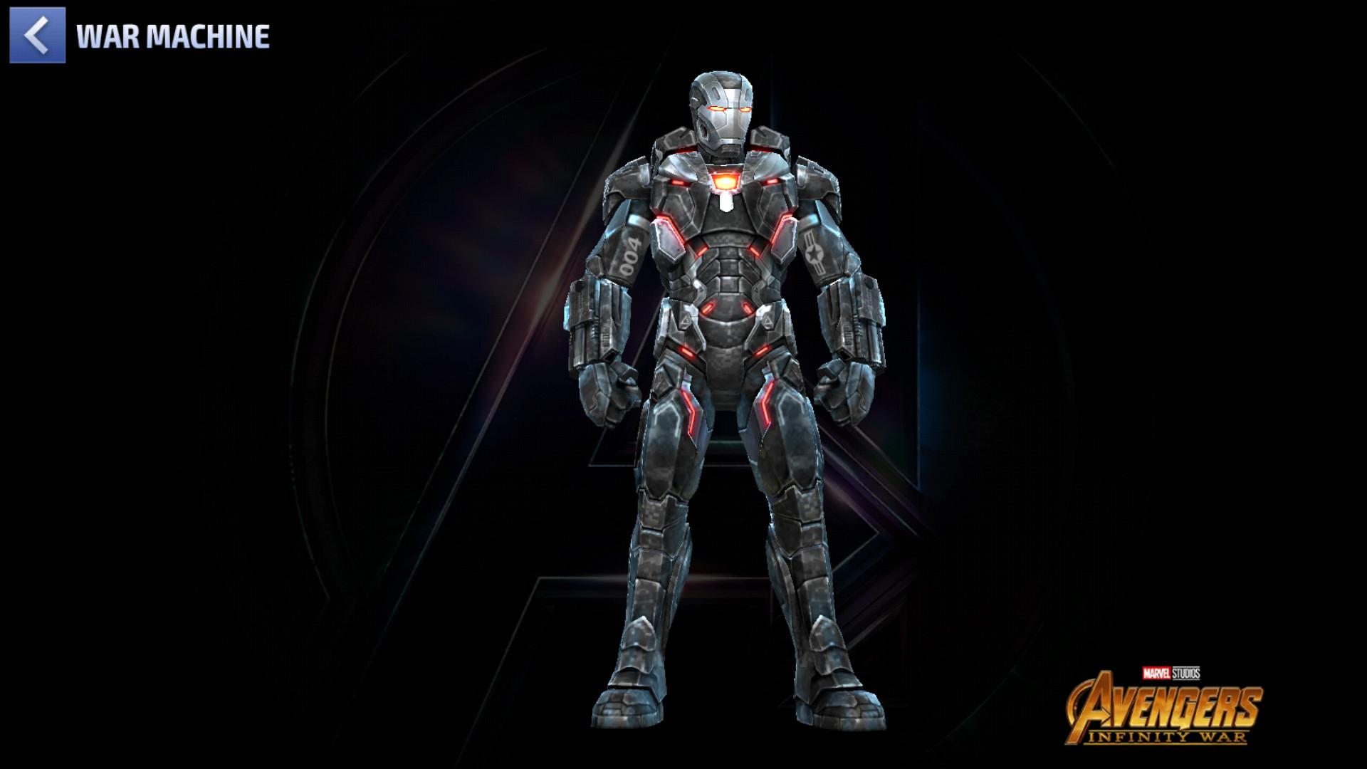 Avec cette armure, War Machine devient largement plus fort