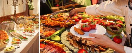 Le buffet: un détail très important pour une fête