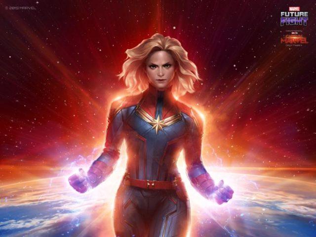 Hehehe, le nouveau costume de Captain Marvel inspiré du film