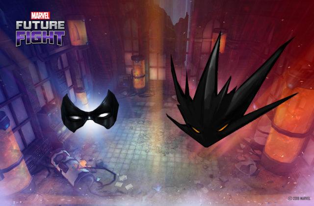 Le petit masque est sans nul doute celui de Minerva, le grand, celui qu'elle a dans sa forme monstrueuse