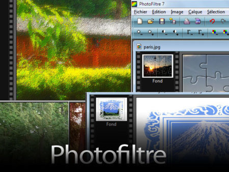 Simple and organized, Photofiltre is suitable for beginners