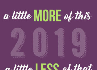 De bonnes résolutions pour cette nouvelle année 2019 ?