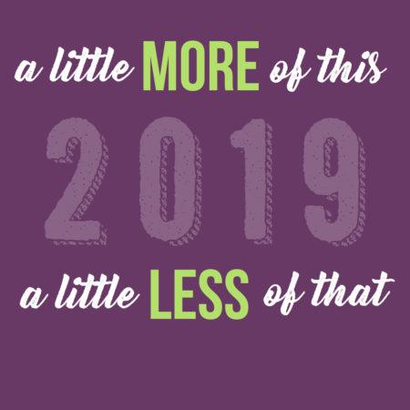 De bonnes résolutions pour cette nouvelle année 2019?