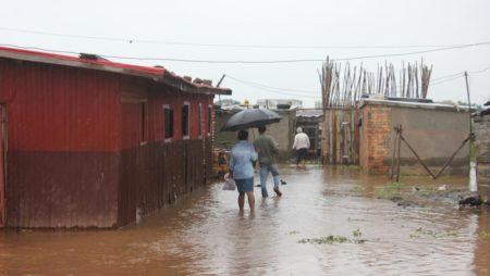 Il faut évacuer les zones susceptibles d'inondation