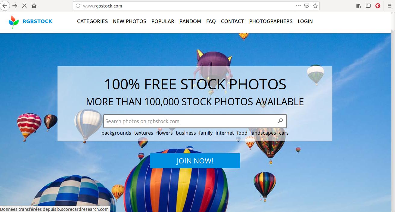 Trouvez l'image idéale pour votre création graphique sur RBG Stock