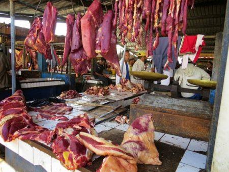 De la viande d'origine inconnue dans les marchés d'Antananarivo