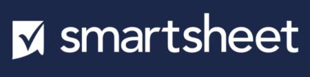 El logo de Smartsheet