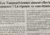 Les Tananariviennes aiment-elles la manucure? la réponse va vous étonner ! - Titre du journal Jejoo du 28 mars 2019